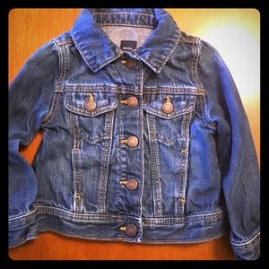 Baby Gap Jean Jacket Size 2